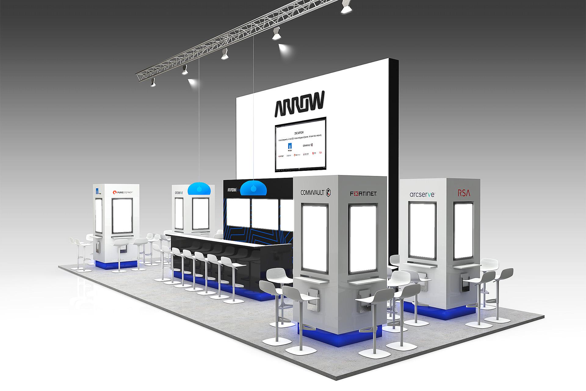 Arrow Infosecurity 2017-Standontwerp-SchoonemanDesign