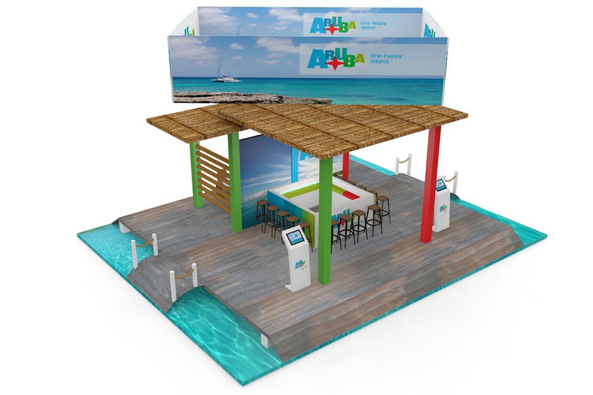 Aruba presentatie-Standontwerp-SchoonemanDesign