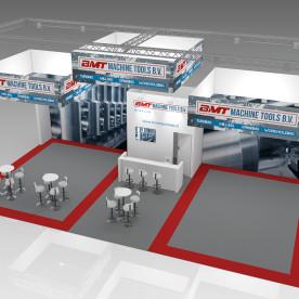 BMT Machine Tools - SchoonemanDesign - Standontwerp Amsterdam