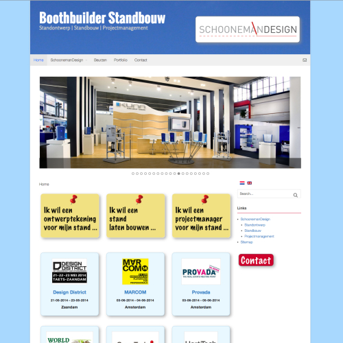 Nieuwe service SchoonemanDesign: Boothbuilder-Standbouw.nl