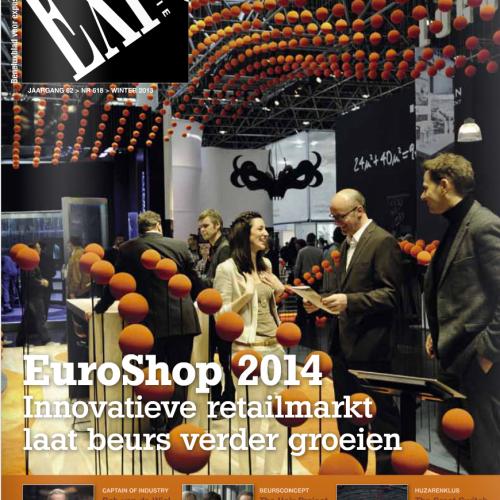 Persbericht van SchoonemanDesign in ExpoVisie – Januari 2014