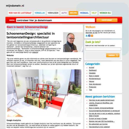 MijnDomein – Klant in beeld: SchoonemanDesign