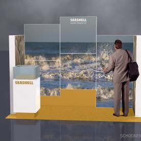 RentDesignstand LED - Seashell