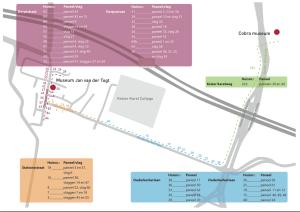Routekaart Kunstroute Amstelveen