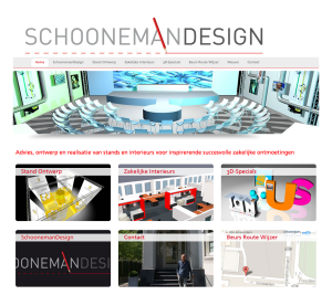 Website SchoonemanDesign 2013