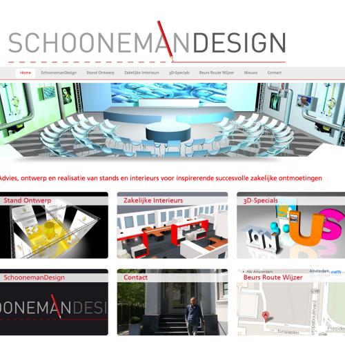 Website SchoonemanDesign gaat live!