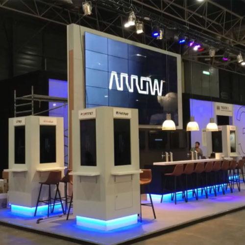 Arrow – Opbouw stand