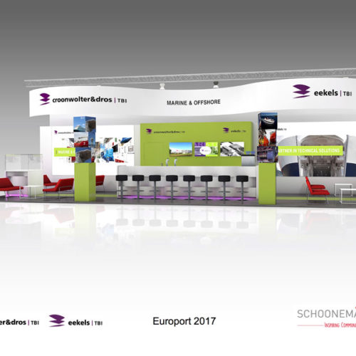 Croonwolter & Dros – Opbouw stand