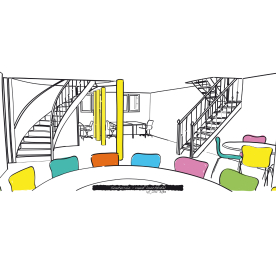 Villa Aemstelle - souterrain - Schooneman Design