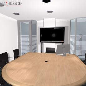 Villa Aemstelle - directiekamer - Schooneman Design